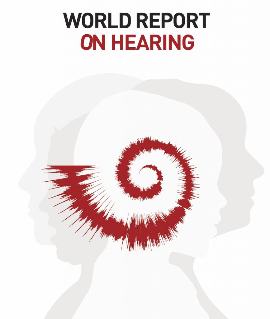 World Report on Hearing cover